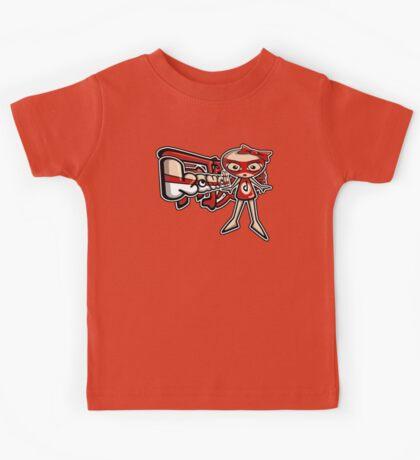 Doll Mascot Tag Kids Tee