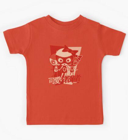 Doll Mascot Stencil Kids Tee
