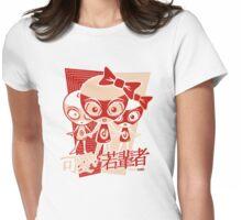 Doll Mascot Stencil Womens Fitted T-Shirt