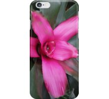 contrast between pink&green iPhone Case/Skin