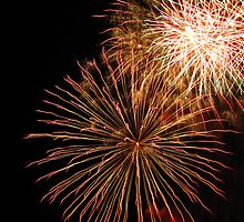 Canberra 2010 Fireworks Display by Jessica Brett