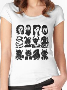 People & Creatures Women's Fitted Scoop T-Shirt