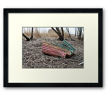 after  shipwreck Framed Print