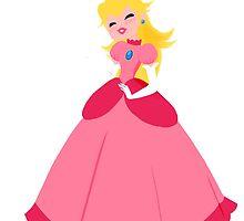 Princess Peach by delinquentmiley