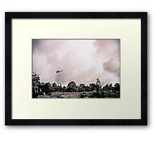 NYE Fire Framed Print