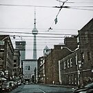 CN Tower...wired up by Gary Paakkonen