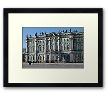 Winter Palace  in St. Petersburg Framed Print