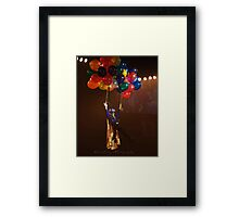 'Here Comes Jeff' Framed Print
