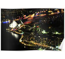 New years eve Sydney 09 - the boats head home Poster