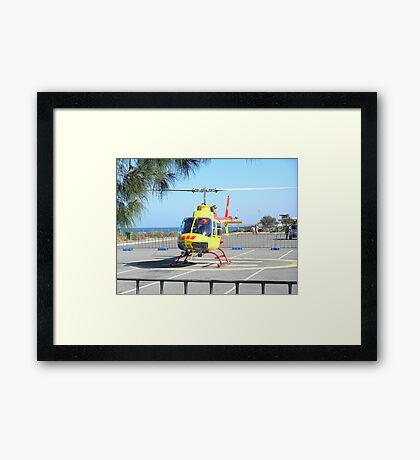 We're off! Framed Print