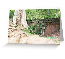 Angkor Wat: Peering Through the Other Side Greeting Card