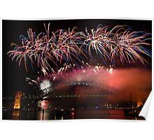 Sydney Fireworks 2009-2010 p5 Poster