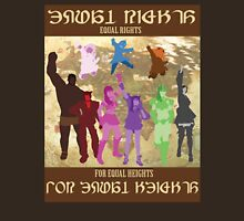 Eorzea Equal Rights For Equal Heights Campaign Unisex T-Shirt