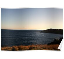 Evening Glow, Victor Harbour, SA Australia Poster