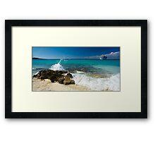a historic Dominican Republic landscape Framed Print