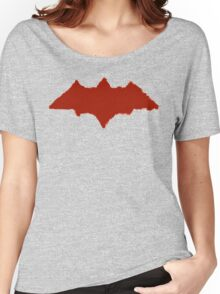 The Ruthless Vigilante (Painted / Distressed Variant) Women's Relaxed Fit T-Shirt