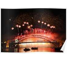 Sydney Fireworks 2009-2010 p11 Poster