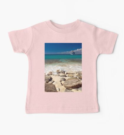 a colourful Dominican Republic landscape Baby Tee