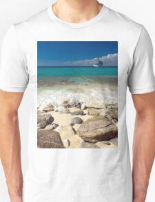 a colourful Dominican Republic landscape T-Shirt