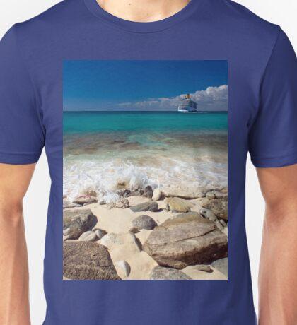 a colourful Dominican Republic landscape Unisex T-Shirt