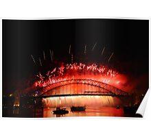 Sydney Fireworks 2009-2010 p12 Poster