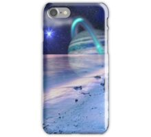 Space on the Beach iPhone Case/Skin