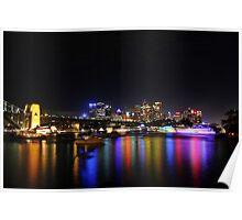 Sydney harbour NYE 2009-2010 Poster