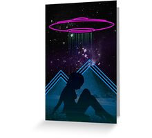 Space Woman Greeting Card