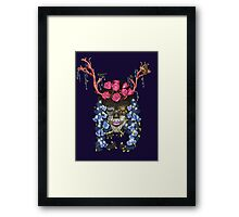 Nature's seed Framed Print