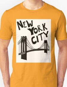 New York City - Brooklyn Bridge Unisex T-Shirt