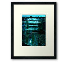 Midnight Marsh Framed Print
