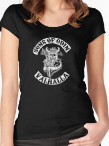 Sons of Odin Vikings Inspired Women's Fitted Scoop T-Shirt