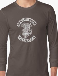 Sons of Odin Vikings Inspired Long Sleeve T-Shirt