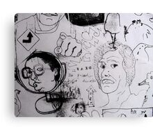 Doodles.  Canvas Print