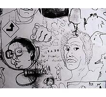 Doodles.  Photographic Print