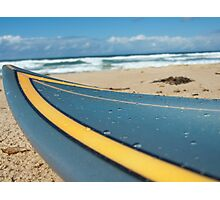 Wet Surfboard Photographic Print