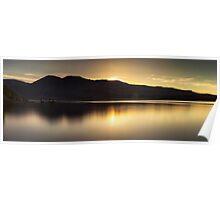 Comox lake Vancouver island Poster