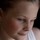 Dancer's portrait by Karen Scrimes