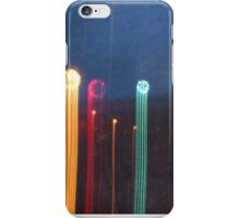stop motion lights iPhone Case/Skin