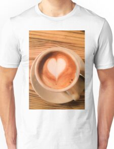 Heart Coffee Unisex T-Shirt