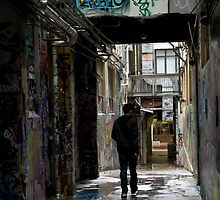 Wellington Alley by Norman Repacholi