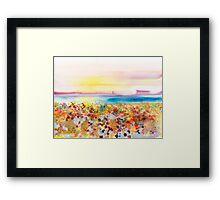 Field of Joy Framed Print