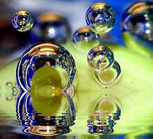 Marble with mineral water  by Gabi Siebenhühner