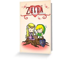 The Legend of Zelda : Valentine's day Greeting Card