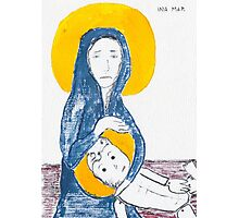 Virgin Mary's missed abortion Photographic Print