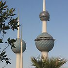 The Towers of Kuwait by Dana Kay