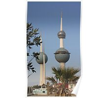 The Towers of Kuwait Poster