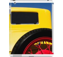 Yellow '31 Ford - Print  iPad Case/Skin