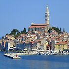 The Enchanting Town of Rovinj by Sue Gurney