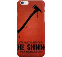 The Shining - MINIMAL DESIGN iPhone Case/Skin